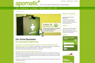 apomatic+ Do-It-Yourself-Marketing für Apotheken